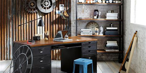 20 industrial home office designs decorating ideas 20 home office ideas and color schemes