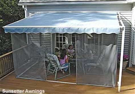 portable awnings for decks screen porch kits install on awnings to make a porch enclosure