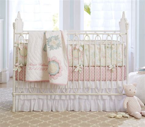 Pottery Barn Crib Sheets by Does Anyone Or Has Anyone Seen Pottery Barn Crib