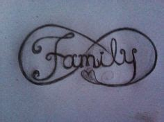 infinity family designs family tattoos at the illustrator with family