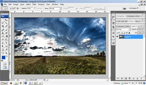 tutorial photoshop untuk pemula belajar mengedit foto efek dengan photoshop cs3 untuk