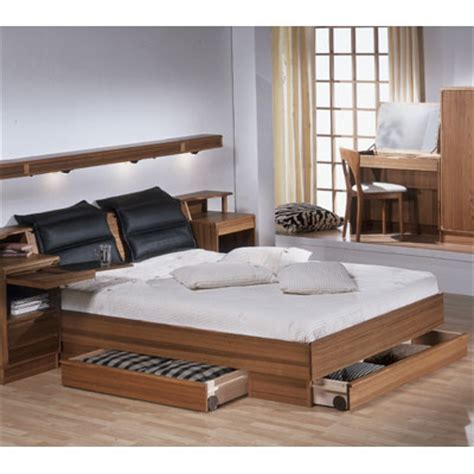Bed Frames Design Torring 219 Bed Frame With Three Drawers Design Quest Contemporary Furniture And Accessories
