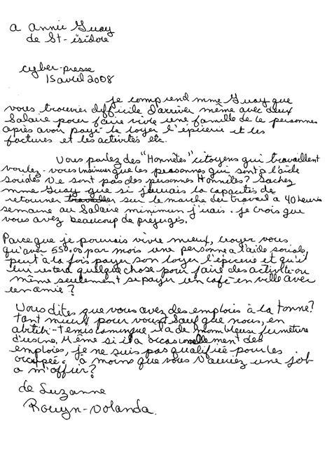 Exemple De Lettre Ecrite A Des Prisonnier Mesdames Messieurs Les Ministres Collectif Pour Un