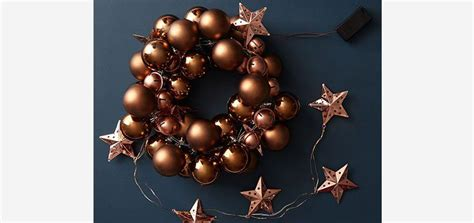 bauble wreath homebase  images