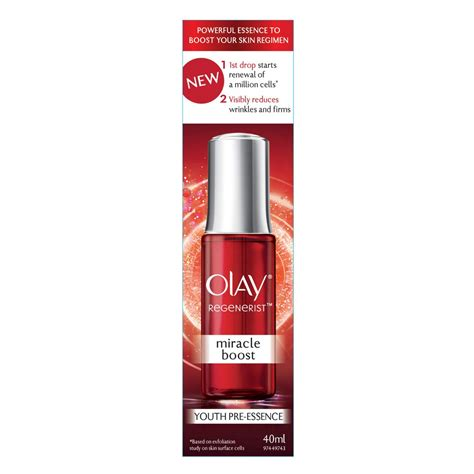 Olay Age Miracle buy regenerist miracle boost 40 ml by olay priceline
