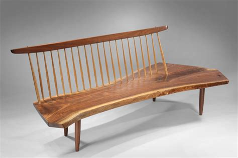 gallery bench george nakashima bench george pinterest