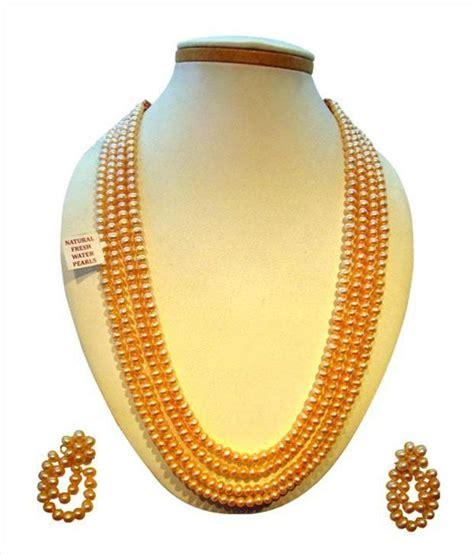 rs kapi top sri kapi pearls pearls haaram necklace set buy sri