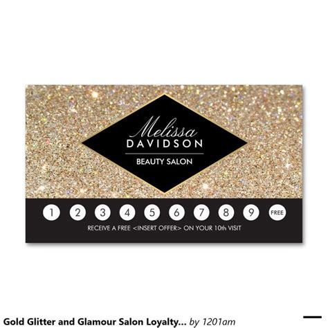 salon punch card template m 225 s de 1000 ideas sobre salon promotions en