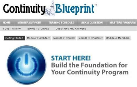 continuity blueprint review + free speedppc affiliate pro