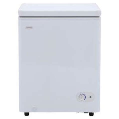 danby 3 8 cu ft chest freezer in white dcf038a1wdb1