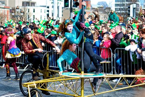 is st s day big in ireland st s day was a subdued affair in dublin ireland