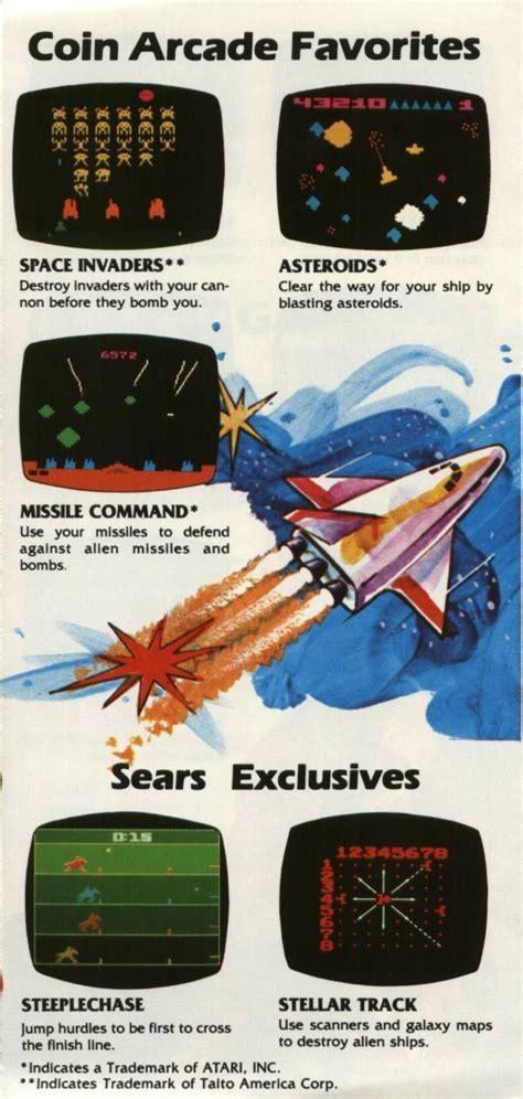 missile command the atari 2600 journal books atariage catalog sears co18940 rev 1