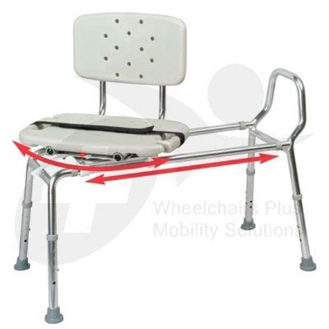 eagle transfer bench new eagle 37662 swivel seat sliding bath transfer bench
