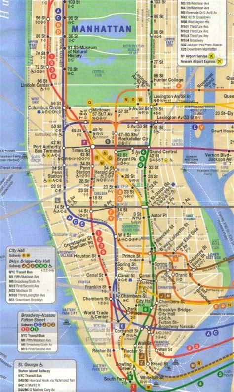 Mat Subway Map by Mta Manhattan Map Montana Map