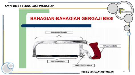 Gergaji Besi 1 Set smn 1013 topik 2 peralatan tangan 1