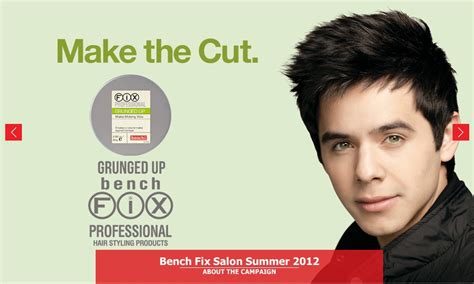 bench fix david archuleta banner on bench fix salon website 187 david