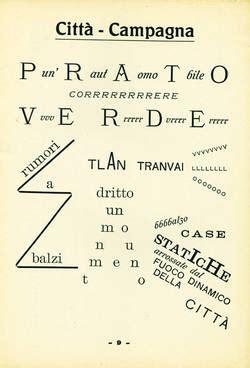 poesie futuriste testi parole in libert 224 istituto comprensivo di savignano sul