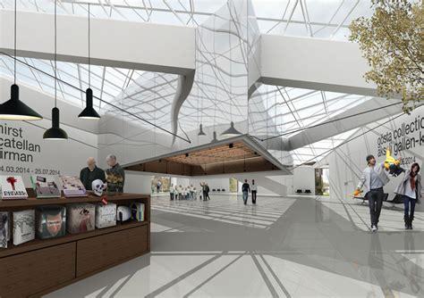 foyer museum frama architekten serlachius museum g 246 sta extension