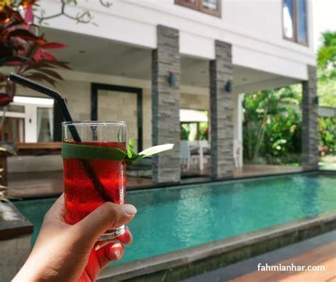 Microwave Di Bali menyepi di villa club b residence canggu bali