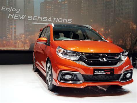 Covertutup Mobil Honda Mobilio F New Warna new honda mobilio rs lebih kaya fitur mobil baru