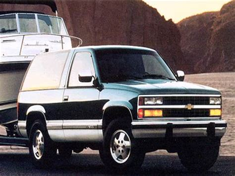 blue book used cars values 1995 chevrolet g series g20 on board diagnostic system 1994 chevrolet blazer pricing ratings reviews kelley blue book