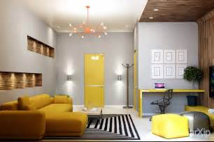 room builder 25 gorgeous yellow accent living rooms