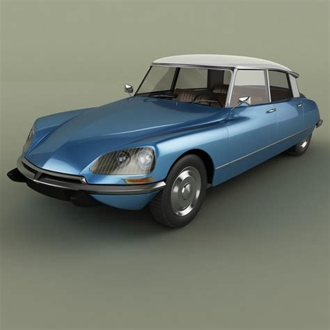 Citroen Ds 21 by Citroen Ds 21 3d Model Max Obj 3ds Fbx Cgtrader