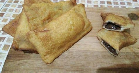resep roti goreng isi coklat keju oleh ummu aqila cookpad
