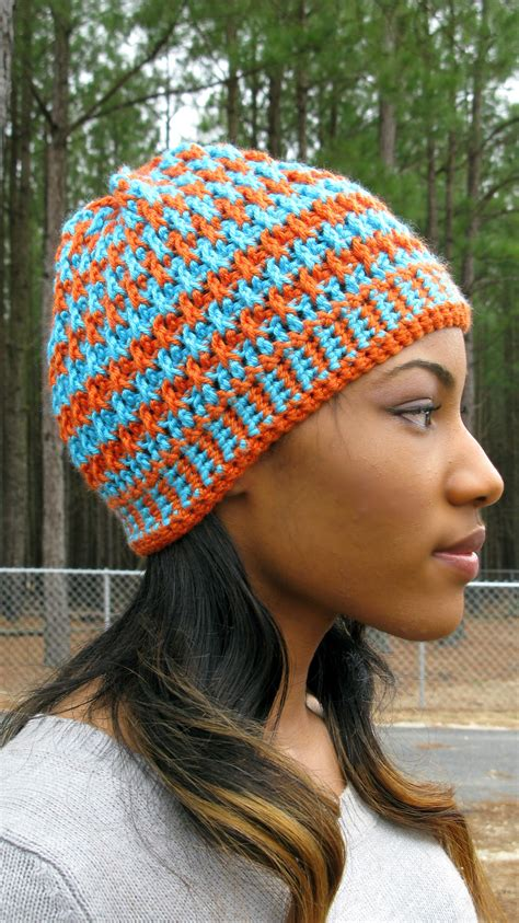 how to attach yarn to a crocheted beanie so it looks like hair morning frost a free crochet hat pattern more free