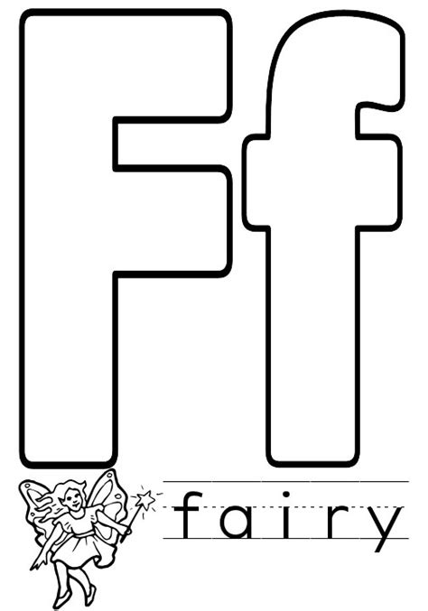 alphabet recognition coloring pages letter f coloring pages to download and print for free
