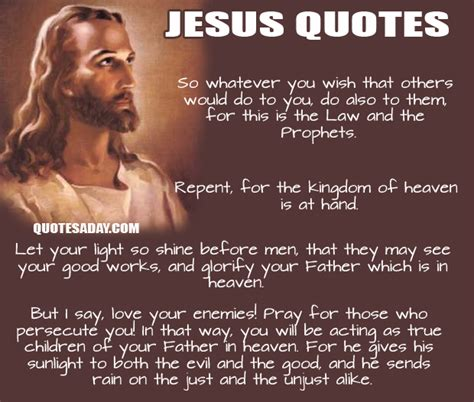 Jesus Quotes Quotes About Jesus Quotationof