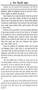 Town Or Essay by Essay On Delhi My City In