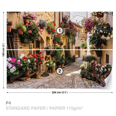 fiori mediterraneo carta da parati mediterraneo con fiori europosters it