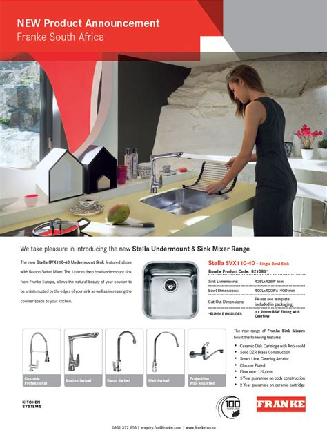 Franke introduces the new Stella Undermount   IID   The