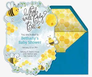 Baby Victory Boy Premium 32 boy silhouette baby shower gender reveal invitation