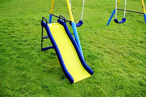 my first swing set sportspower my first metal swing set endurro the best