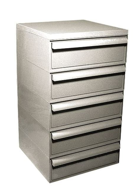 5 Drawer Units Storage Slide Storage System Five Drawer Unit 16 1 2 W X 28 1 2 H