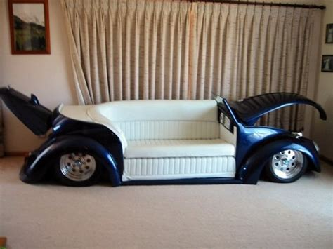 vw beetle couch vw sofa cool pinterest caves awesome and vw beetles