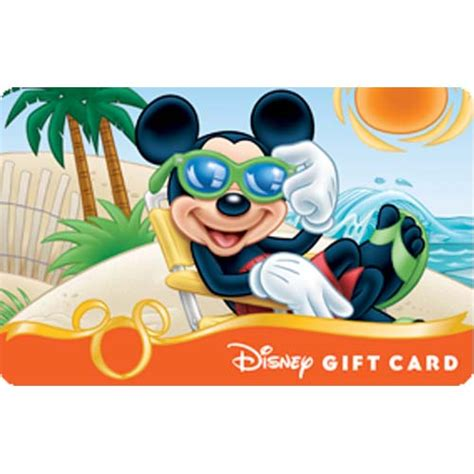 Rays Gift Cards - your wdw store disney collectible gift card beach series catching some rays