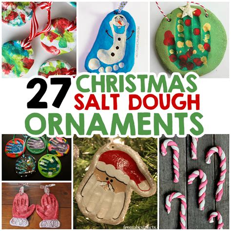27 christmas salt dough ornaments for kids dough
