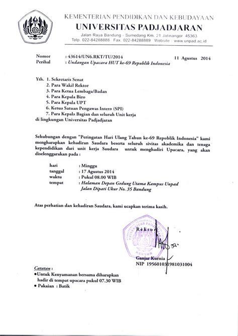 format daftar hadir upacara bendera contoh surat undangan upacara 17 agustus contoh undangan