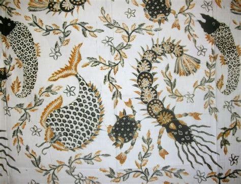 Batik Tulis Bunga Ikan B02 by 25 Contoh Gambar Ragam Hias Flora Dan Fauna Yang Mudah