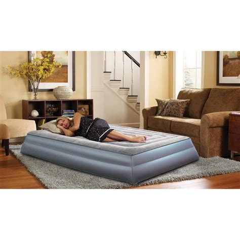 simmons 174 beautyrest ultraflex pillowtop air bed 148987 air beds at sportsman s guide