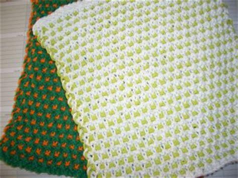 wyif knitting free patterns garter slip stitch dishcloth