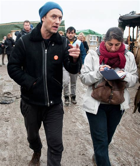 Jude Letter Cameron actor jude visits calais jungle c in plea to pm to