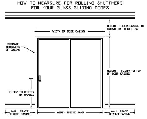 how to draw a sliding door in a floor plan rolling shutters for glass sliding doors