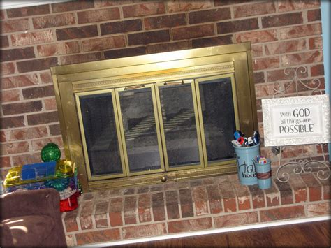 How To Update A Fireplace tattered and inked updating your fireplace without