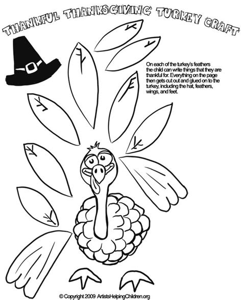 printable thanksgiving crafts for preschoolers thankful turkey crafts templates happy easter