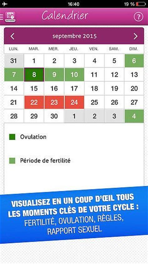 Calendrier De Fertilite T 233 L 233 Charger Mon Ovulation Calendrier De Fertilit 233