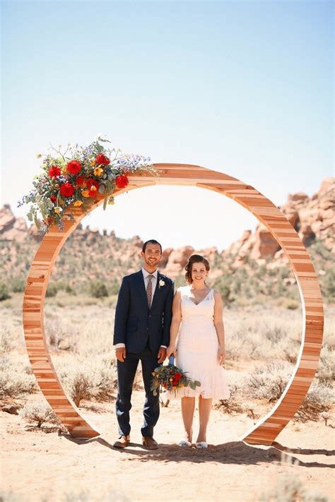most creative themed engagement photos bridalguide 6 modern ceremony backdrops for outdoor weddings brides